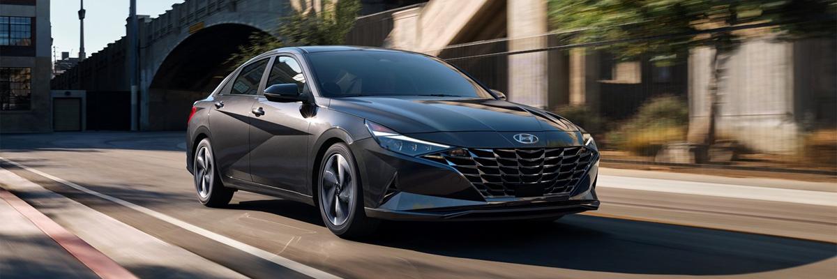 new Hyundai Elantra Hybrid